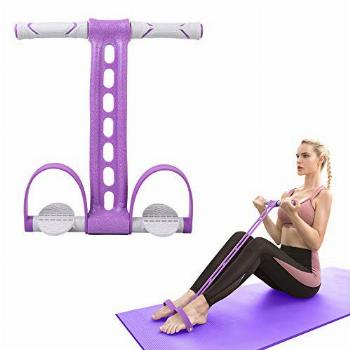 AIKOTOO Pedal Resistance Band Elastic Pull Rope Fitness