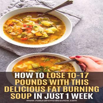 Before we start with this article and show you how to make this amazing fat-burning soup, you shoul