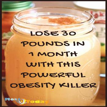 Lose 30 Pounds In 1 Month With This Powerful Obesity Killer Learn how to lose 30 Pounds in 1 month