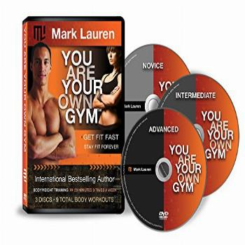 Mark Lauren Bodyweight Workout DVD You are Your Own Gym |