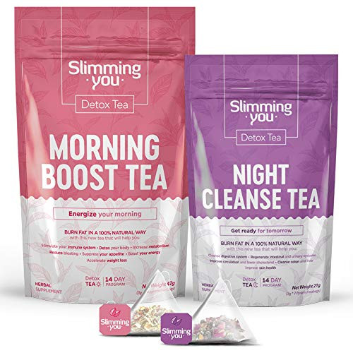 Detox Tea for Weight Loss and Belly Fat, 14 Day Teatox