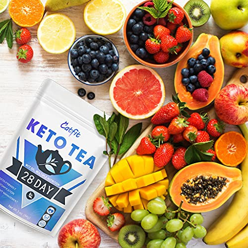 Keto Detox Tea for Weight Loss, Belly Fat and Colon Cleanse